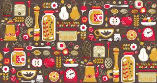 fruit wallpaper borders for kitchen