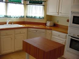 countertops cherry woods butcher block countertop white cabinetry