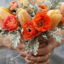 hues of orange two hues of orange with soft white green inspiration pinterest