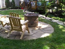 Outdoor Firepit Outdoor Firepit And Fireplace Design In St Louis Hardscape