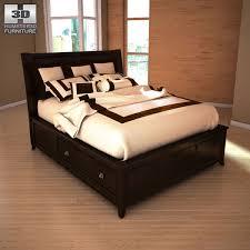 martini bedroom set 3d model ashley martini suite queen panel headboard bed vr ar