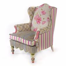 Wing Chair Mackenzie Childs Summerhouse Wing Chair Chelsea Gifts Online