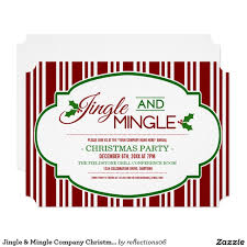 jingle and mingle invitations office holiday and christmas party