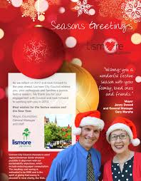 merry christmas from mayor jenny dowell and lismore city council