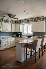What Is The Space Above Kitchen Cabinets Called Kitchen Reveal With Dark Cabinets And Open Shelving Bigger Than