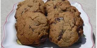 chataigne cuisine cookies à la farine de châtaigne recette sur cuisine actuelle