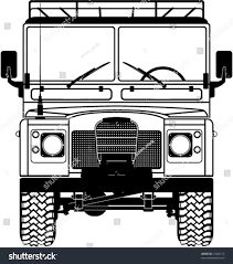 safari jeep cartoon safari landrover front car vector stock vector 21500173 shutterstock