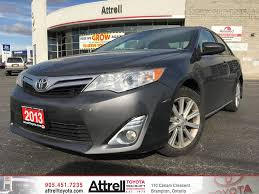 toyota camry 2019 used 2013 toyota camry xle 4 door car in brampton on 39326a