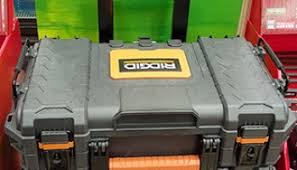 home depot black friday gun safe ridgid pro organizer tool box and gear cart review