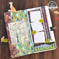 New Hampshire travelers notebook images Autumn woods paper house productions blog jpg