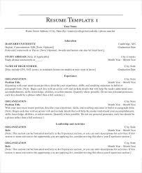 35 resume templates free u0026 premium templates