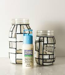 mondrian jars jar crafts