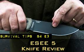 esee kitchen knives the esee 5 survival knife survival news