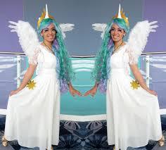 Pony Halloween Costume Girls Diy Pony Accessories Princess Celestia Pony