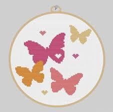 1165 best crafts butterflies cross stitch images on