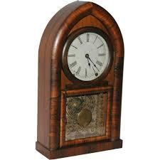 Mantel Clocks American Wm L Gilbert U0026 Co Beehive Mantel Clock From Vrantiques