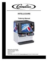intellicarb cold beverage dispenser manuals page 8