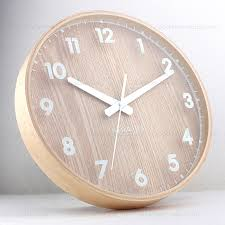 Wooden Wall Clock Clock Phone Picture More Detailed Picture About Ikea Mute