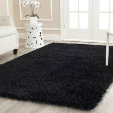 Area Rug Black Black Shag Rugs Area Rugs For Less Overstock