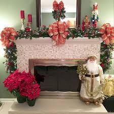 73 Best Deco Garland Images by 19 Best Fireplace Mantel Garland Images On Pinterest Wreaths