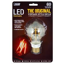 60w Led Light Bulb by Feit Bpat19 Led The Original Vintage Style Bulb 60w Equivalen A19