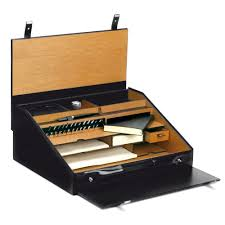 Leather Desk Organizers Pineider 1949 Travel Writing Desk Set Stationery Pens