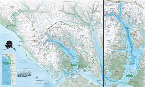 Southeast Alaska Map by Glacier Bay National Park And Preserve Wikiwand