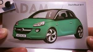 opel adam interior roof opel adam timelapse opel autorsa youtube