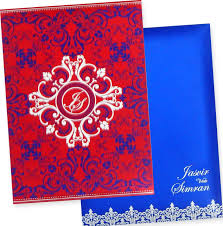 Indian Wedding Card Invitation The Wedding Cards Online Indian Wedding Cards Box Type Padded