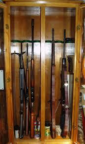 Pine Gun Cabinet Home Made Gun Cabinets Gun And Game The Friendliest Gun