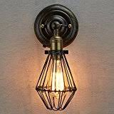 Edison Bulb Wall Sconce Amazon Com Edison Wall Lamps U0026 Sconces Wall Lights Tools