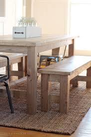 How To Build Farm Table diy farmhouse bench the plant farmhouse bench and small dining