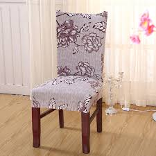 Gold Spandex Chair Covers 1 Piece Printing Polyester Spandex Party Chair Covers Gold Elastic
