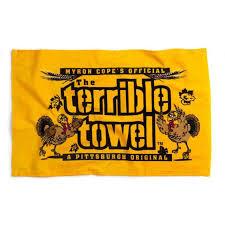pittsburgh steelers turkey terrible towel