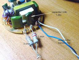 make a high voltage supply in 5 minutes 5 steps with pictures