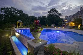 Pool Designs For Backyards Swimming Pool Landscaping Ideas Inground Pools Nj Design Pictures