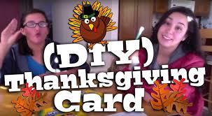 thanksgiving card free diy thanksgiving card youtube