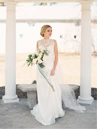 neo classical inspiration spring wedding flowers veil hair and