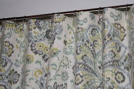 72 X 78 Fabric Shower Curtain Custom Fabric Shower Curtain Stall 54 X 78 72 X 84 108