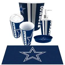 likeable dallas cowboy bathroom accessories tsc in cowboys decor