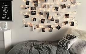 Decorating Bedroom With Lights - 10 guys dorm room decor ideas society19