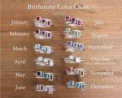 design your own mothers rings stacking rings mothers ring with initial and birthstone