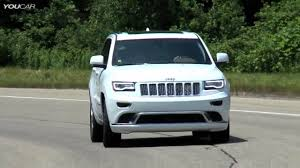 tan jeep grand cherokee 2015 jeep grand cherokee summit california edition youtube