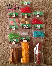 diy minecraft party mimicutelips