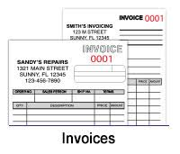 custom printing multi part carbonless invoices u0026 forms