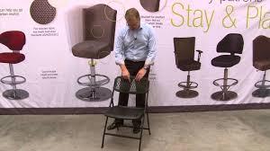 Flex One Folding Chair Mitylite Flex One Lite Folding Chair Youtube