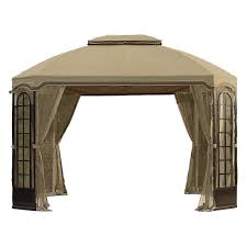 Patio Gazebo Replacement Covers by Terrace Gazebo Replacement Canopy And Netting Set Garden Winds