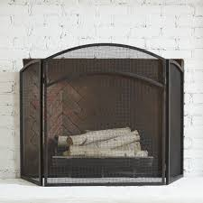 ideas u0026 tips geometric fireplace screens in black for fireplace