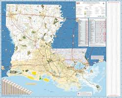 Louisiana Mississippi Map by Large Detailed Map Of Louisiana With Cities And Towns