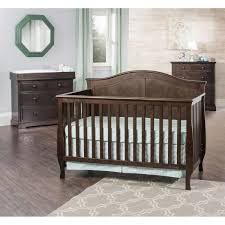 Bed Crib Attachment by Harper 3 Piece Convertible Crib Set Brown